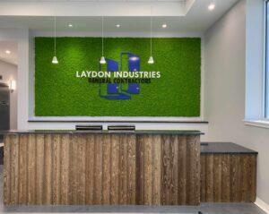 Laydon Industries Moss Wall 2021